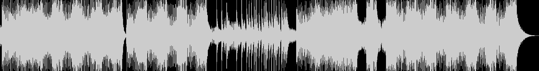 不気味な雰囲気放つエスニックテクノ 短尺の未再生の波形