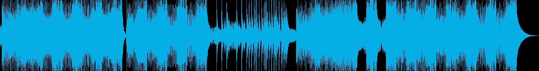 不気味な雰囲気放つエスニックテクノ 短尺の再生済みの波形