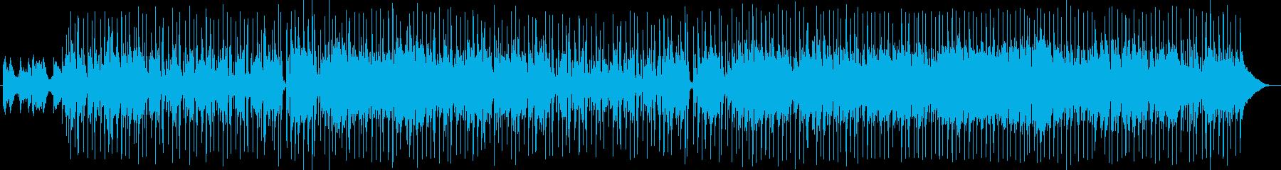かわいらしく穏やかな曲の再生済みの波形