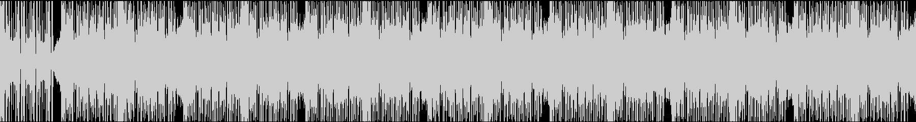 12秒でサビ、ダークエレクトロ/ループの未再生の波形