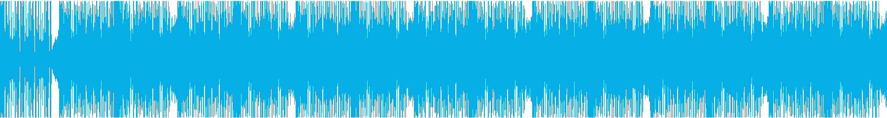 12秒でサビ、ダークエレクトロ/ループの再生済みの波形