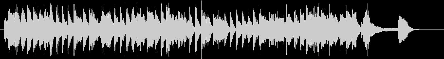 童謡・うれしいひなまつりピアノジングルEの未再生の波形