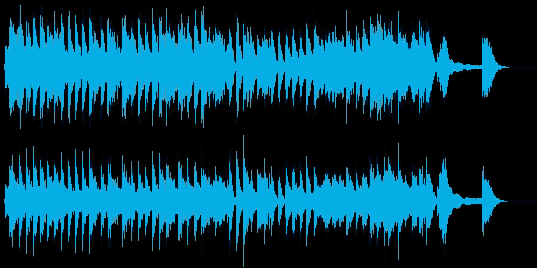 童謡・うれしいひなまつりピアノジングルEの再生済みの波形