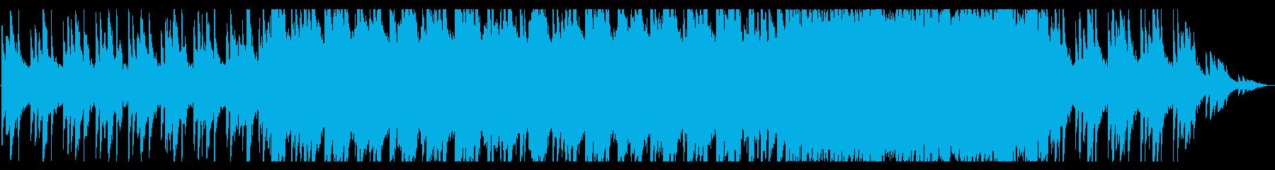 ピアノが主体の幻想的なバラードの再生済みの波形