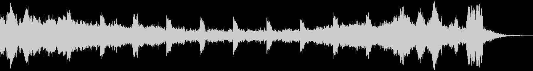 シンキングタイム(15秒)の未再生の波形