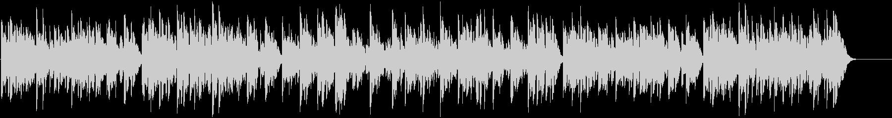 鉄琴の優しいほのぼの系の曲の未再生の波形