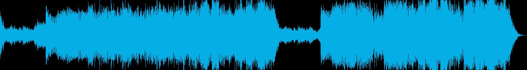 現代的 交響曲 アンビエント 透明...の再生済みの波形