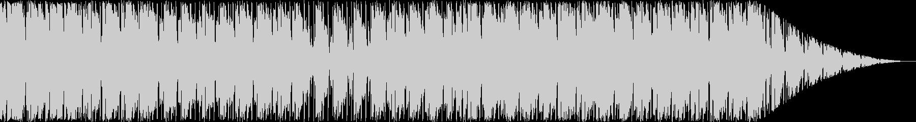 リラックスムードのヒップホップの未再生の波形
