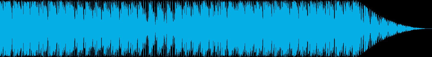 リラックスムードのヒップホップの再生済みの波形