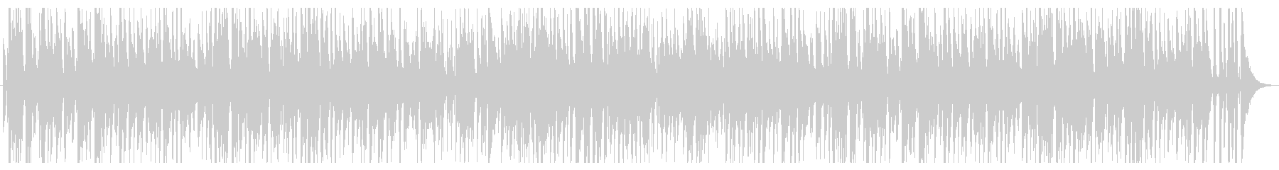 お洒落なジャズピアノトリオ19 軽快の未再生の波形