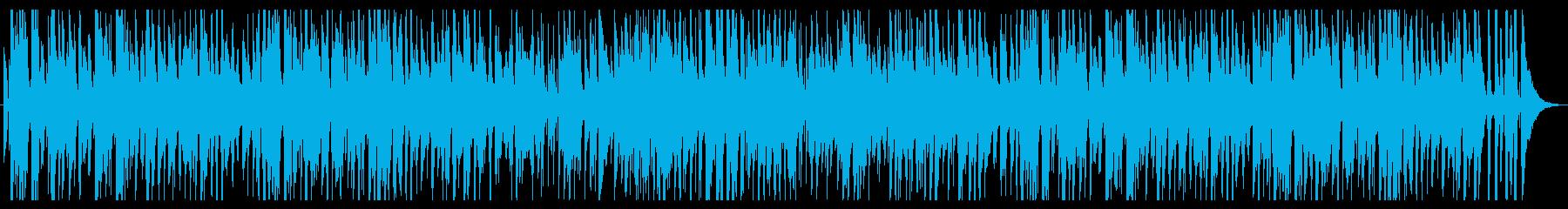 お洒落なジャズピアノトリオ19 軽快の再生済みの波形