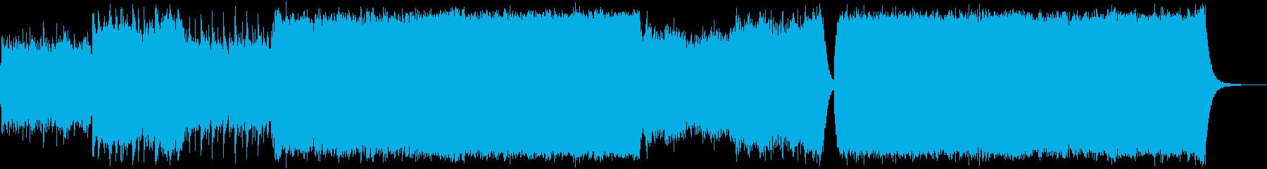 ケルト/壮大/感動/大自然の再生済みの波形