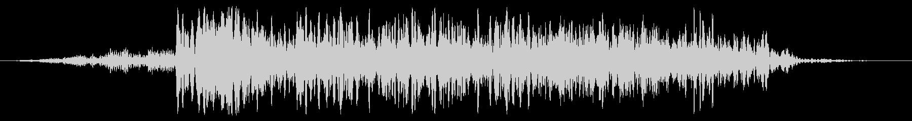 巨大スタンプ変換の未再生の波形
