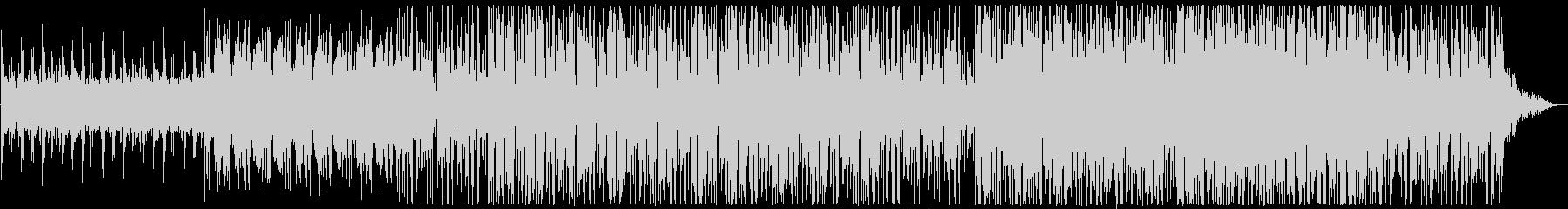 このユニークで抽象的なアンダースコ...の未再生の波形