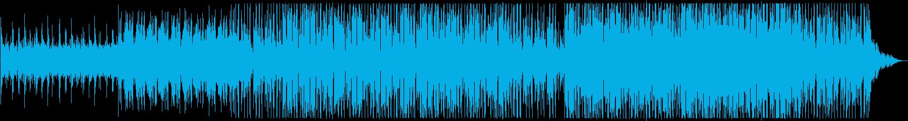 このユニークで抽象的なアンダースコ...の再生済みの波形