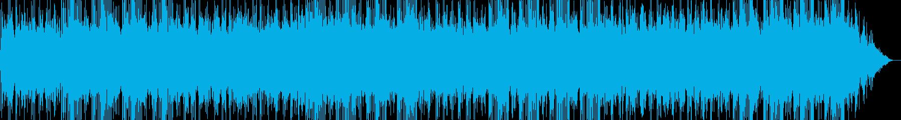 物悲しい・ノスタルジックな曲_リピート有の再生済みの波形