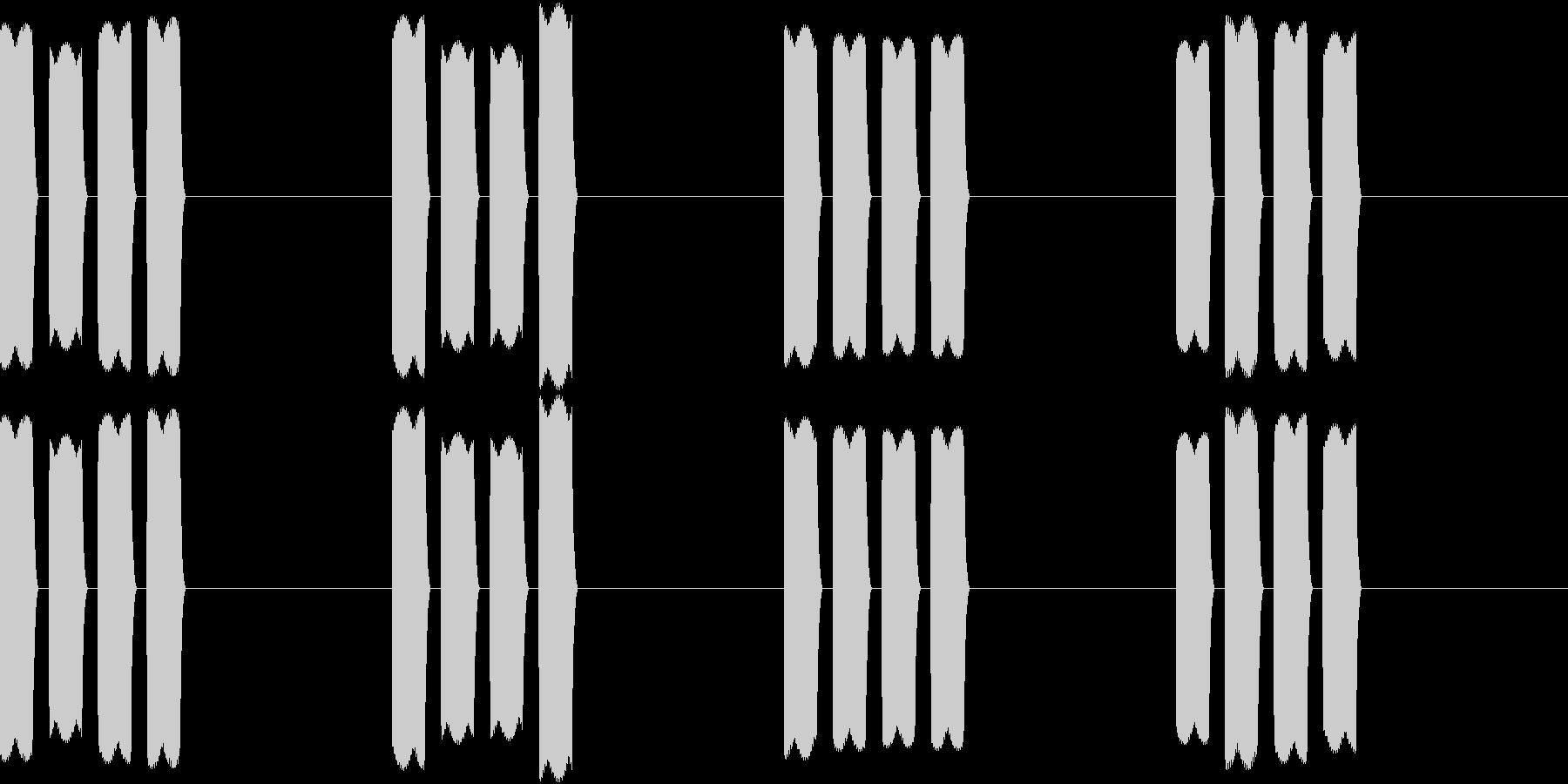 Thermo 体温計の音 ピピピピッ 3の未再生の波形