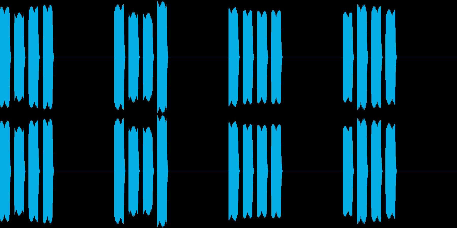 Thermo 体温計の音 ピピピピッ 3の再生済みの波形
