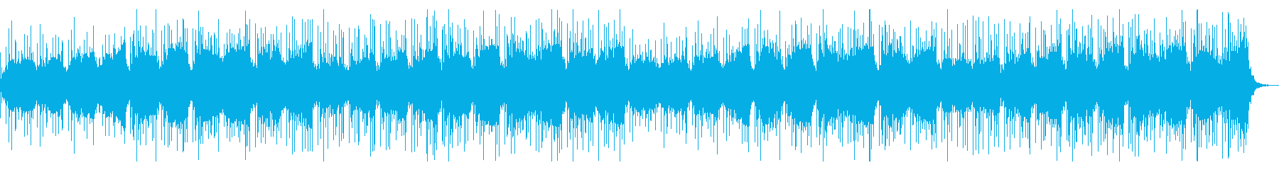 神秘的な終末世界をイメージしたBGMの再生済みの波形
