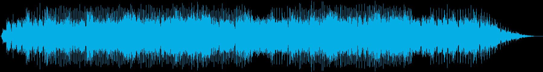 英語 男声ボーカル ポップス ロックの再生済みの波形