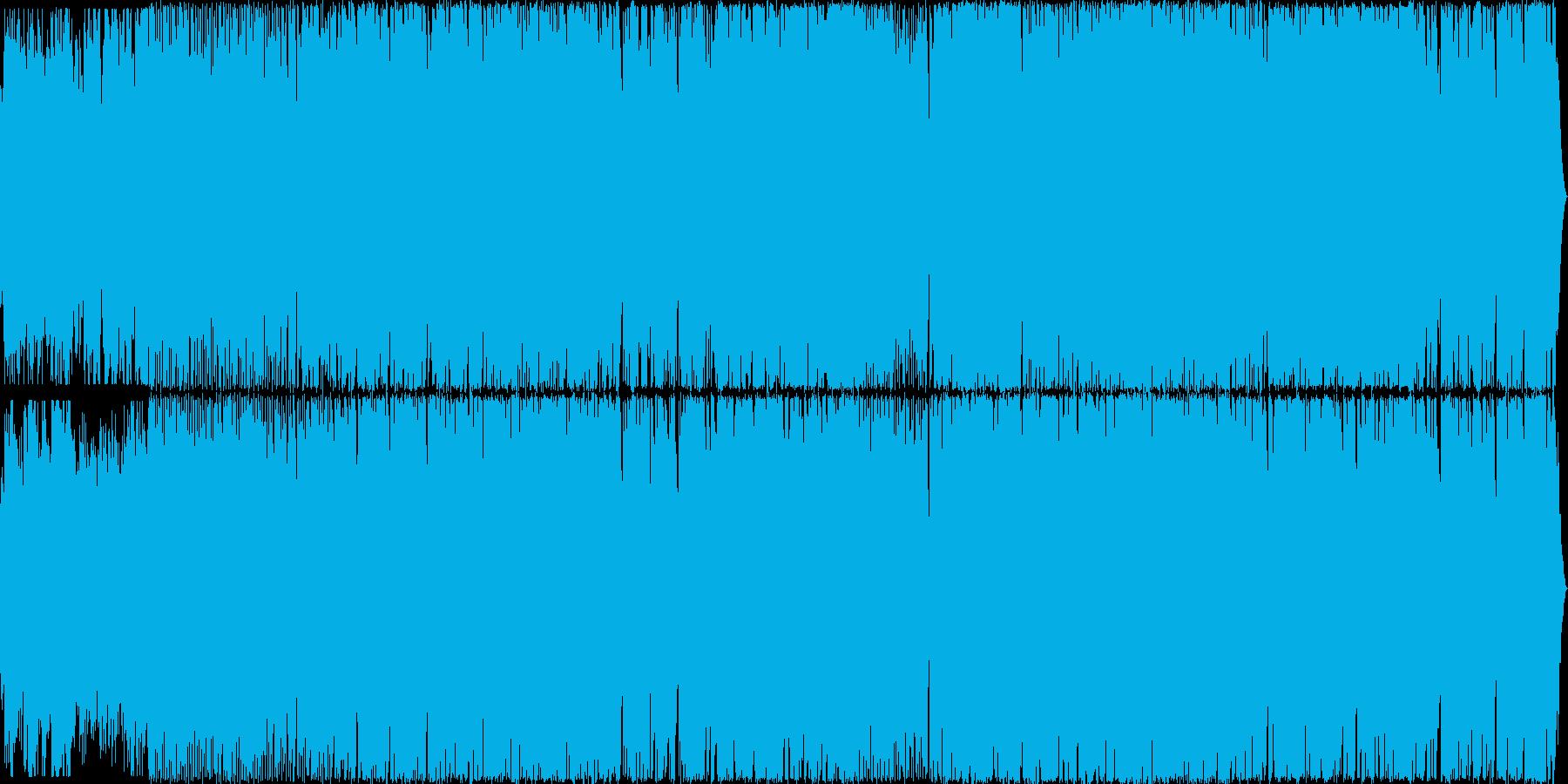 ハロウィン系BGM パンプキンパーティの再生済みの波形