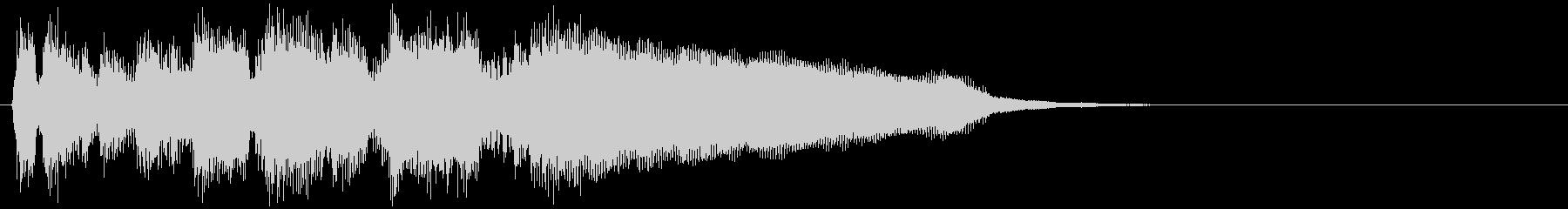 ジャズ系サウンドロゴ◆スタイリッシュの未再生の波形