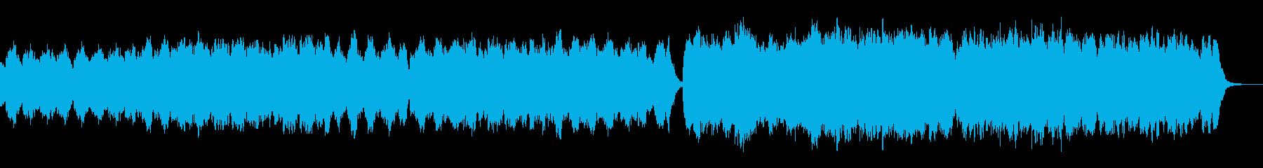 日常で使える落ち着いたBGNの再生済みの波形
