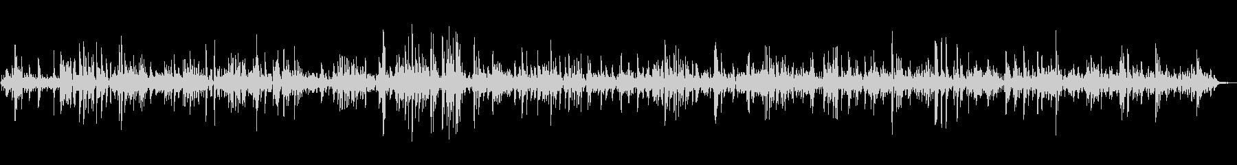 カフェで流れるオシャレなピアノジャズの未再生の波形