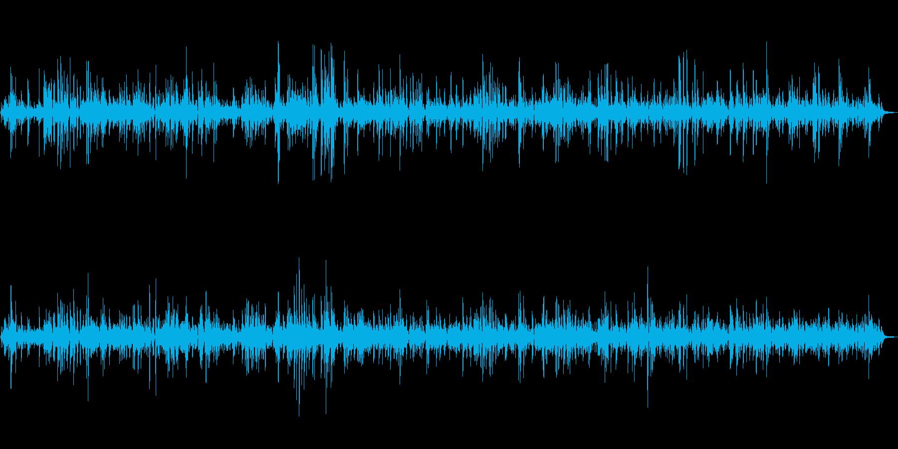 カフェで流れるオシャレなピアノジャズの再生済みの波形