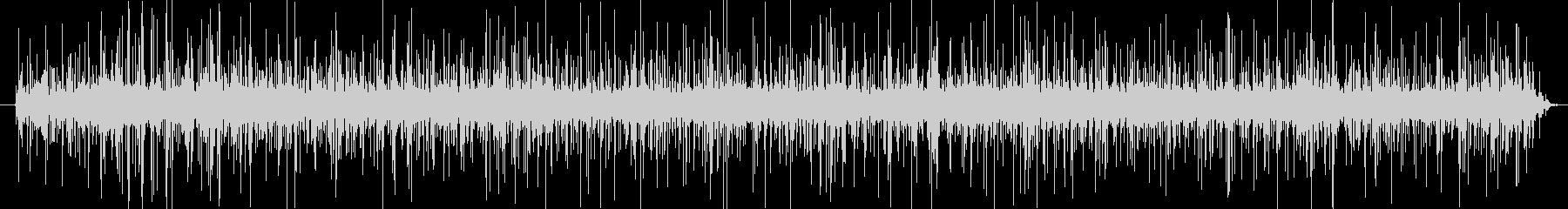揚げ物の音(静かに揚げている)の未再生の波形