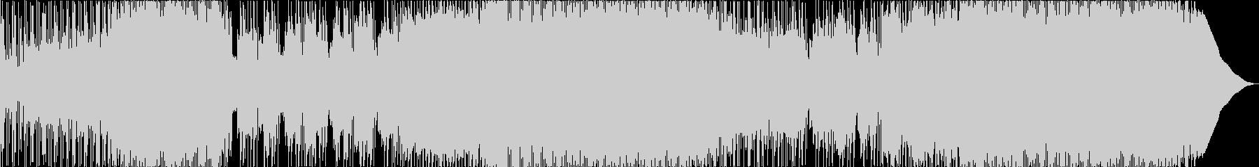 洋楽風のクールで迫力あるエモ・ロックの未再生の波形