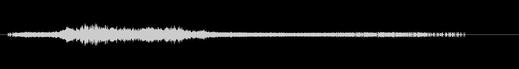 リプレイ向けホラー効果音3 金属&ノイズの未再生の波形