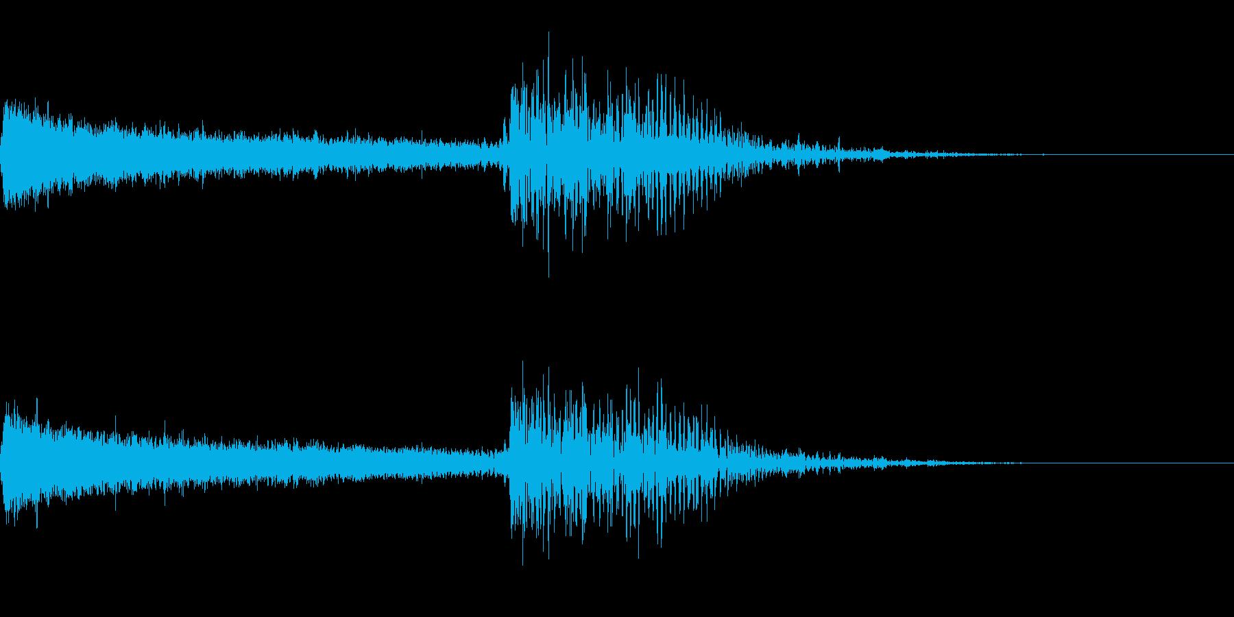 炎魔法/威力大/詠唱(チャージ)有りの再生済みの波形