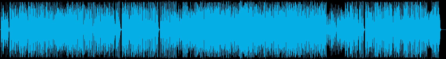 南国をイメージしたギターインストの再生済みの波形