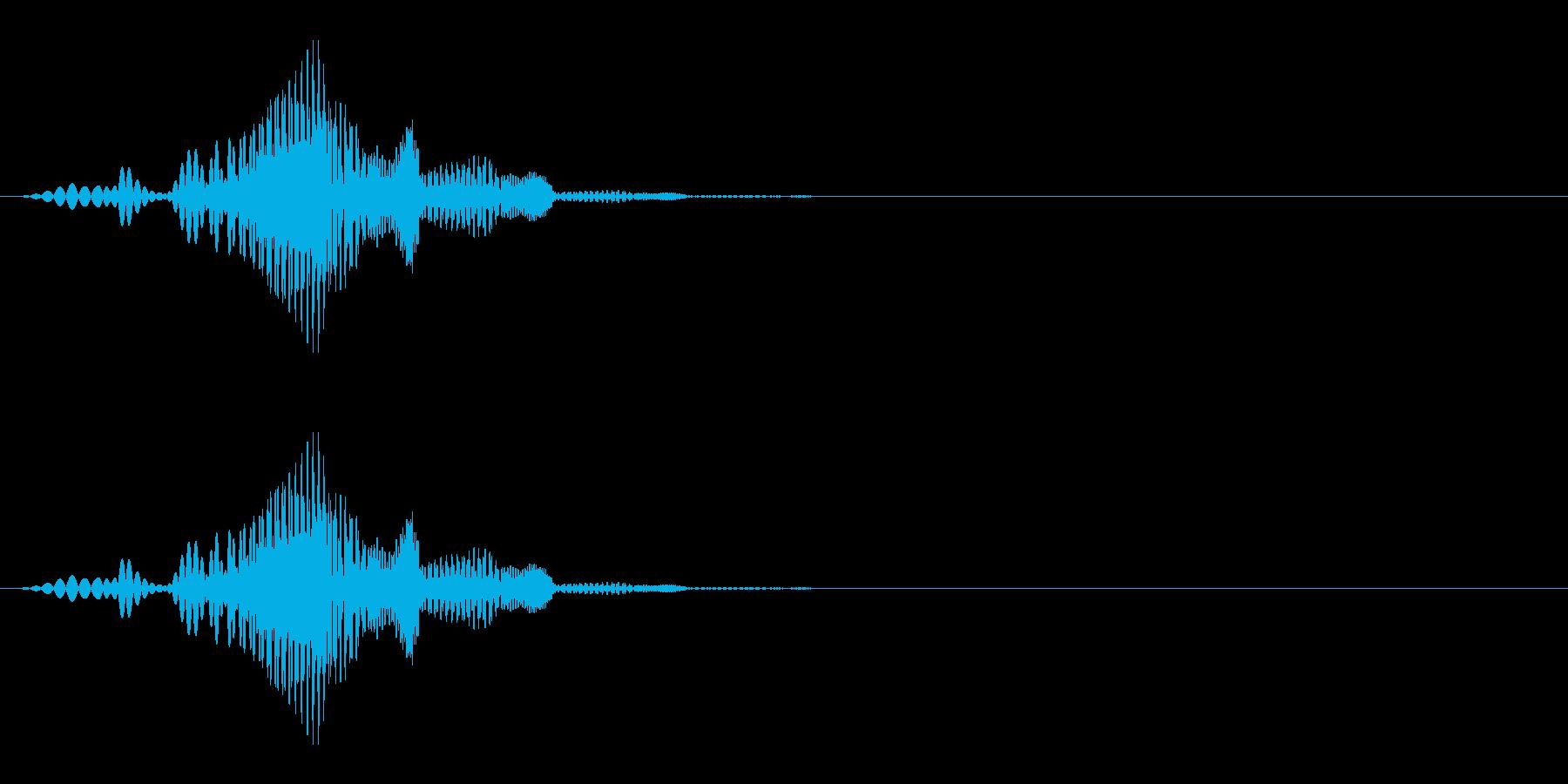 くっつく(ぷにっ/ゼリー/柔らかい)_2の再生済みの波形