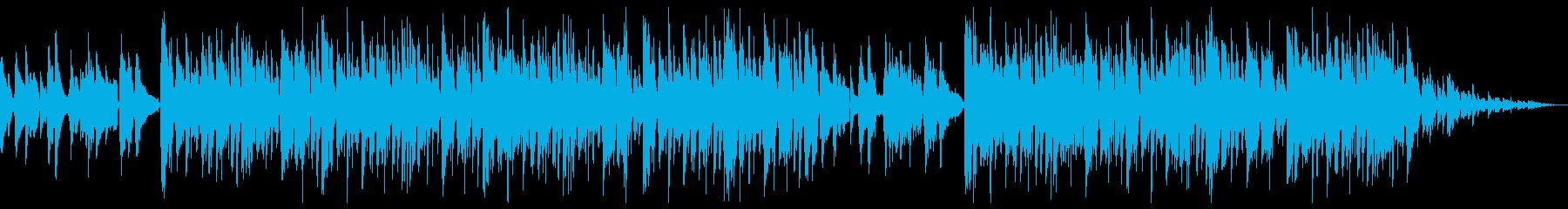 チルホップ ネオソウルギターとサックス2の再生済みの波形