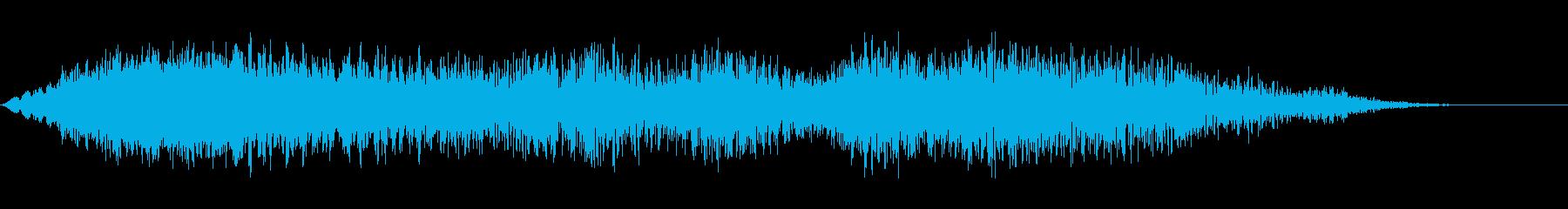 警報イベントの再生済みの波形