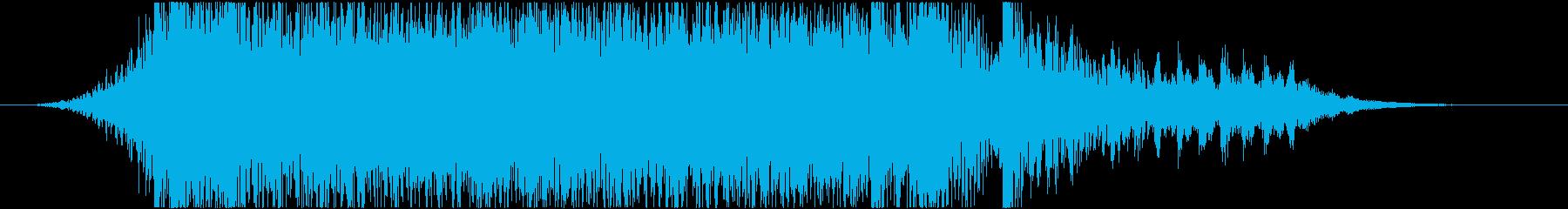 実験的な アクティブ 明るい ドラ...の再生済みの波形