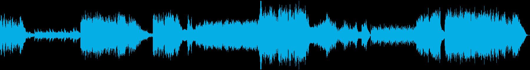 ガムラン/ストリングス/ハープ・神秘的の再生済みの波形