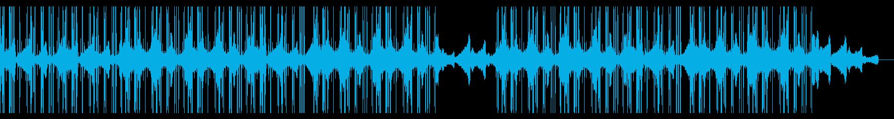Lofi Hiphop 睡眠用チルアウトの再生済みの波形