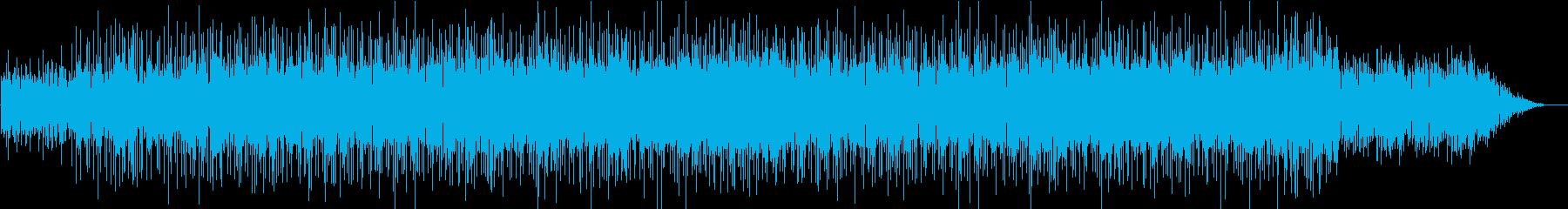 透明感のある知的で妖艶な曲の再生済みの波形