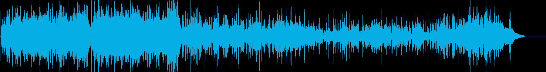 ギターソロの再生済みの波形