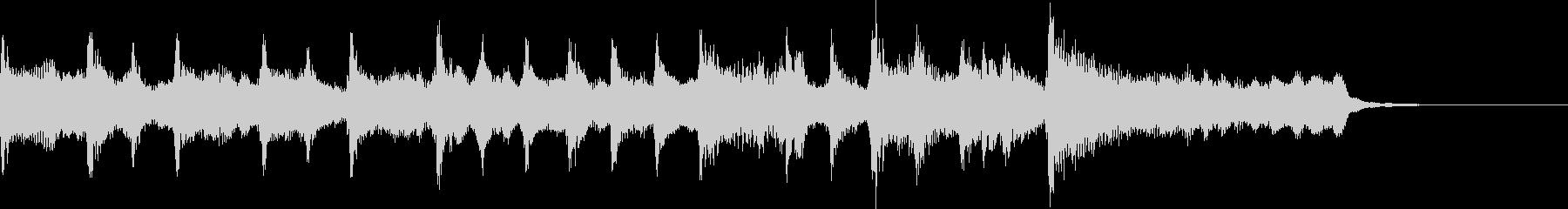 【ジングル】チャンネル登録・穏やかな曲の未再生の波形