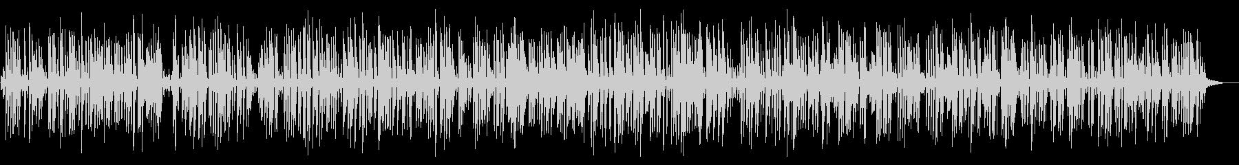 アダルトで大人なジャズバーのピアノの未再生の波形