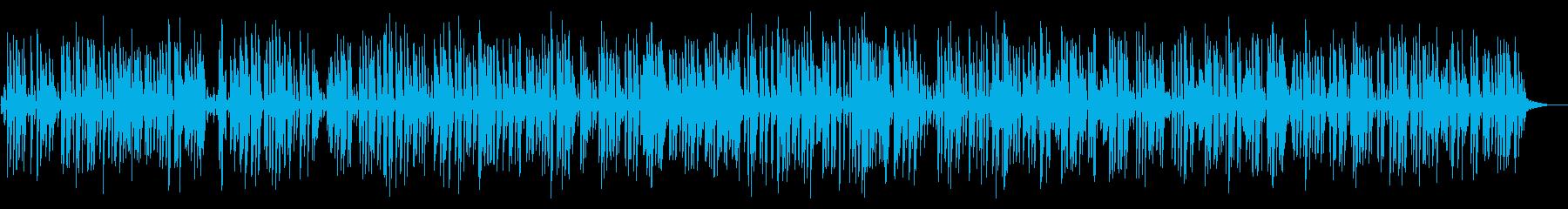 アダルトで大人なジャズバーのピアノの再生済みの波形