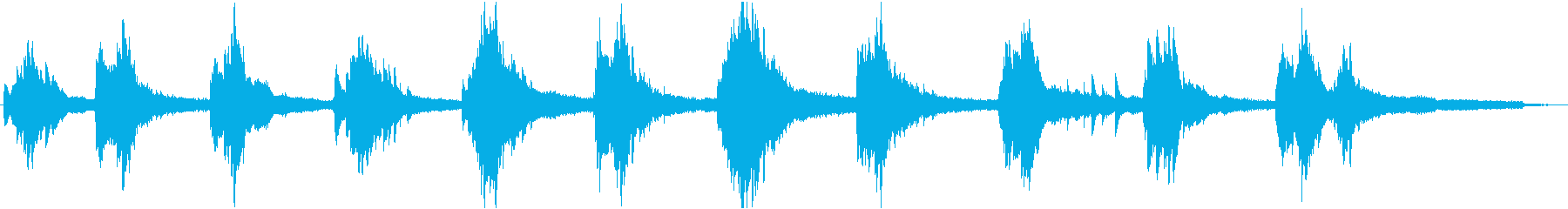 ピアノキラリの再生済みの波形