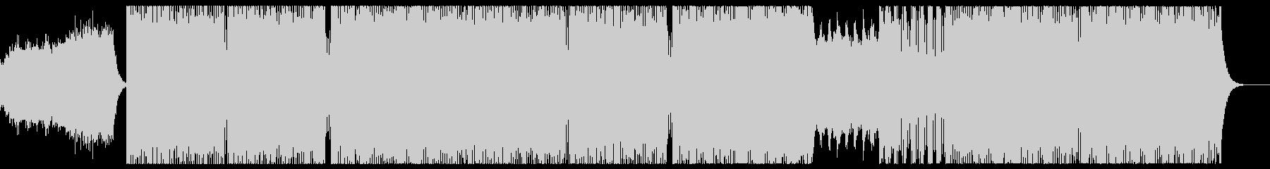 ダークで近未来的なSynth Waveの未再生の波形