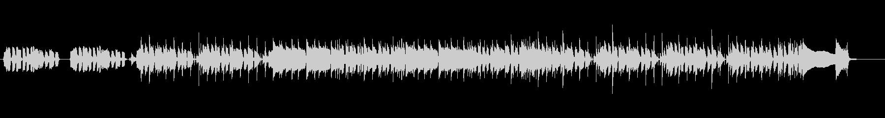 ベースフレーズが印象的なロックBGMの未再生の波形