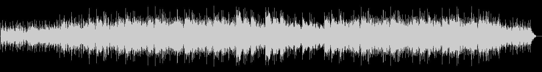 ミッドテンポのブラシドラム、アコー...の未再生の波形