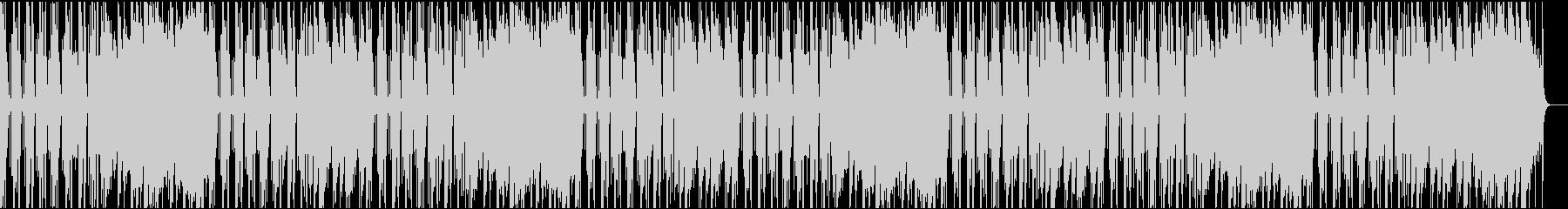 ゆったりコミカル/カラオケの未再生の波形